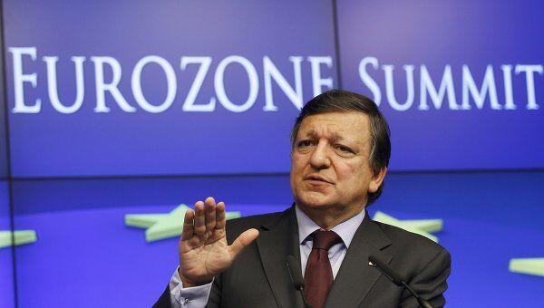 Глава еврокомиссии Жозе Мануэл Баррозу