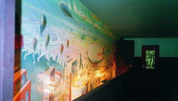 Инсталляция Красный вагон Кабаковых