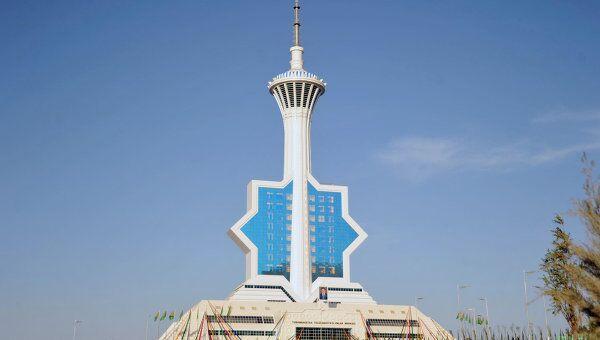 Новая телебашня введена в эксплуатацию в Ашхабаде. Архив