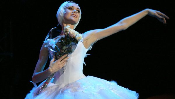 Балерина Ульяна Лопаткина. Архив