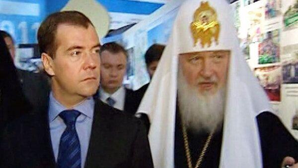 Медведев нашел в Антарктиде епархию Русской Православной Церкви