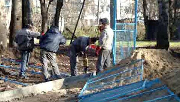 Детям из поселка Болшево построят новую спортивную площадку