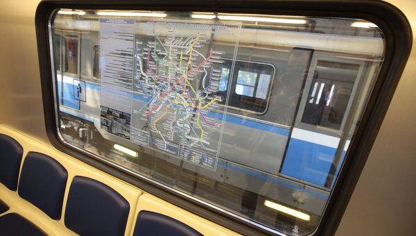 Новые вагоны в московском метро