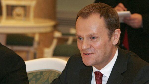 Премьер-министр Польши Дональд Туск. Архив