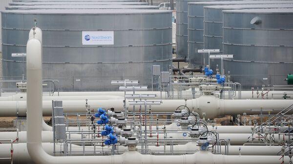 Газопровод Северный поток в Германии. Архив
