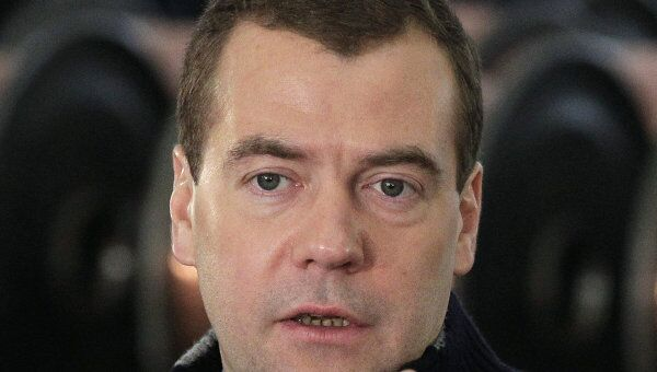 Президент РФ Д.Медведев в Хабаровске