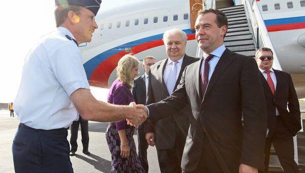Президент РФ Д.Медведев прибыл в Гонолулу для участия в саммите АТЭС