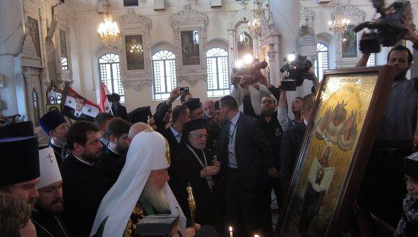 В Успенском кафедральном соборе Дамаска