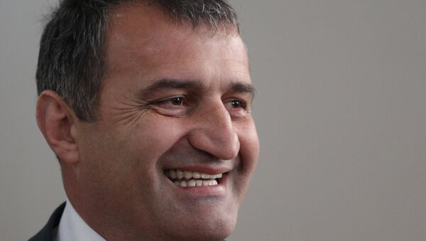Кандидат в президенты Южной Осетии Анатолий Бибилов. Архивное фото