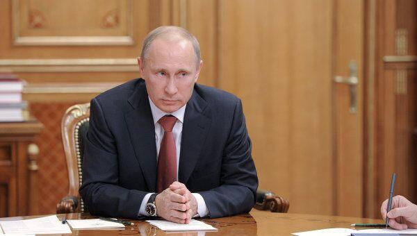 Владимир Путин проводит совещание по вопросам гособоронзаказа