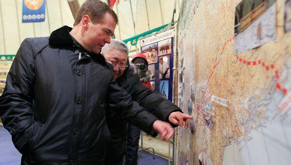 Дмитрий Медведев в Якутии