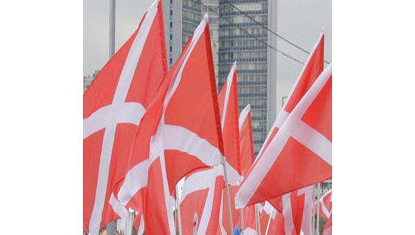 Во время митинга движения НАШИ. Архив