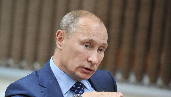 Путин поручил списать налоговые долги, возникшие до 2009 года