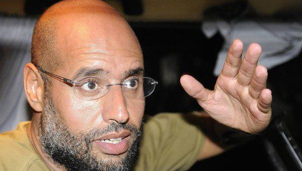 Сын Муамара Каддафи Сейф-аль-Ислам. Архивное фото