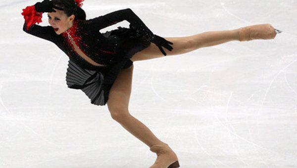 Россиянка выиграла пятый этап серии Гран-при по фигурному катанию в Париже
