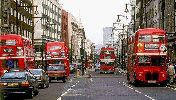 Лондон, омнибусы