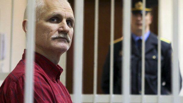 Правозащитник Алесь Беляцкий. Архивное фото