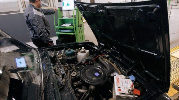 Прохождение технического осмотра автомобиля в ГИБДД