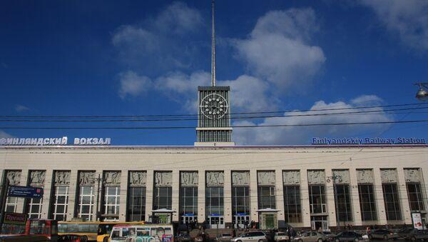 Усиление мер безопасности на вокзале Петербурга