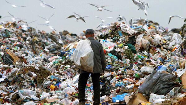 Полигон промышленных отходов. Архивное фото
