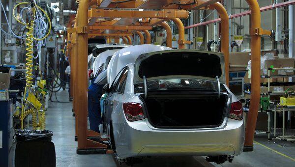 Начало производства малогабаритных автомобилей Opel Astra на заводе General Motors в производственной зоне Шушары-2 Санкт-Петербурга. Архивное слово