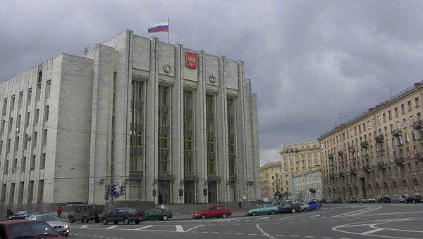 Правительство Ленобласти. Архивное фото