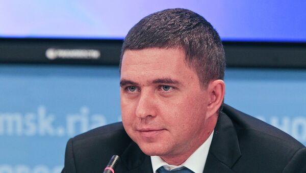 Спикер думы города Томска Сергей Ильиных