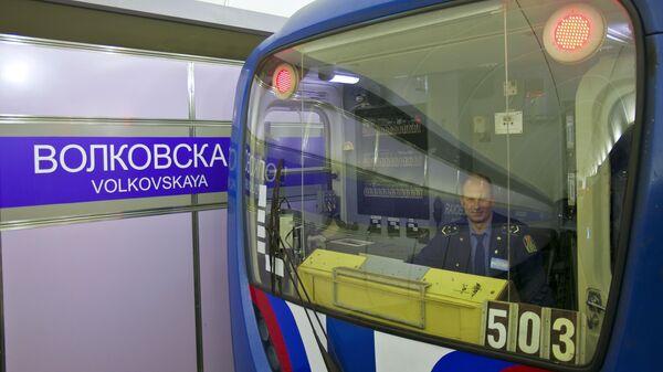 Новая станция Санкт-Петербургского метрополитена Волковская