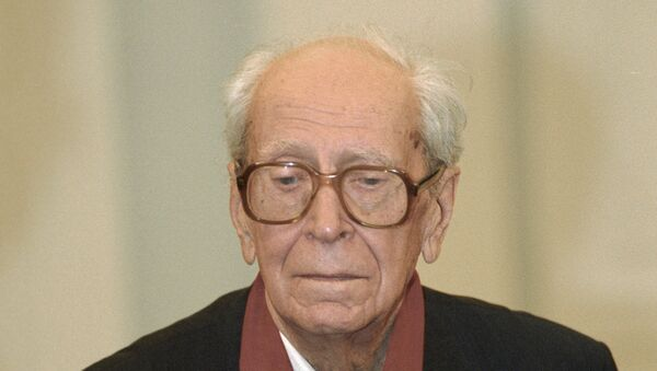 Академик Дмитрий Лихачев. Архив