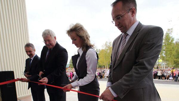 Открытие школы в Каргасоксом районе
