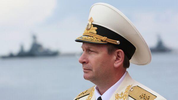 Главком ВМФ России вице-адмирал Виктор Чирков. Архив