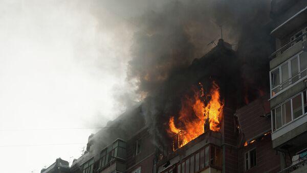 Взрыв в жилом доме в Томске