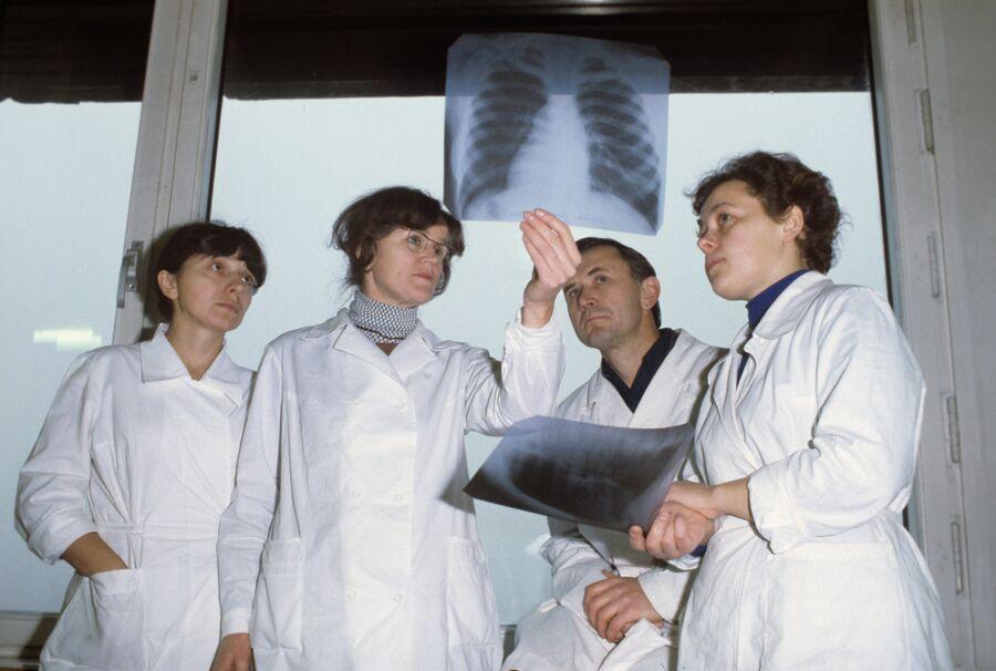 Рентгенологи онкоцентра имени Н. Н. Блохина