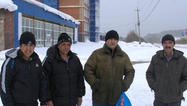 Тридцать восемь гастарбайтеров сделают Томск красивее.  ВИДЕО