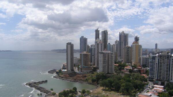 Общий вид столицы Панамы. Архивное фото