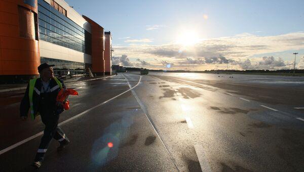 Международный аэропорт Калининграда Храброво. Архивное фото