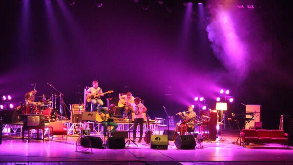 Концерт группы БИ-2 в Томске