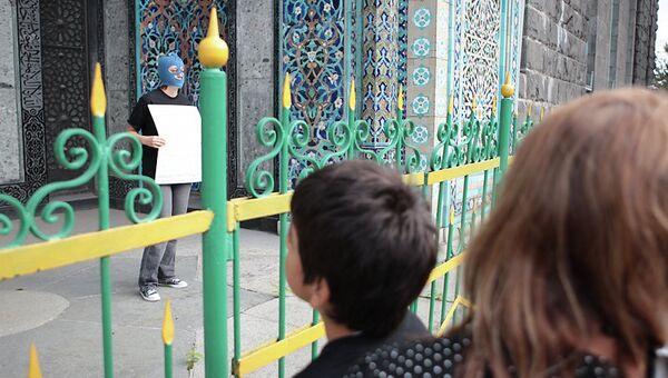 Акция у Соборной мечети