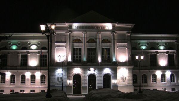 Томск встретил Час Земли велопробегом и отключением подсветки ТГУ