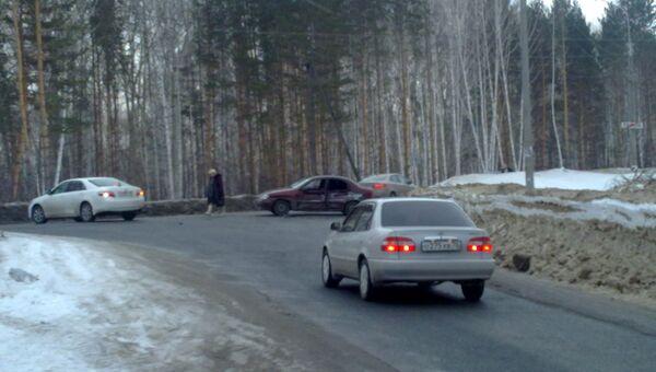 Авария на Богашевской трассе