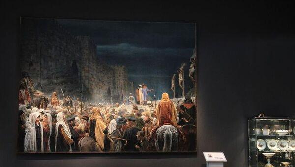 Распятие на кресте у римлян Василия Верещагина. Архивное фото