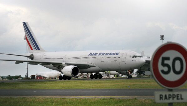 Лайнер французской авиакомпании Air France, архивное фото