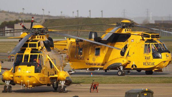 Поисковые работы в районе крушения сухогруза Свонлэнд у берегов Уэльса