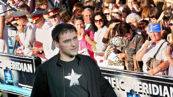 Юрий Шатунов на открытии кинофестиваля стран АТР Меридианы Тихого во Владивостоке