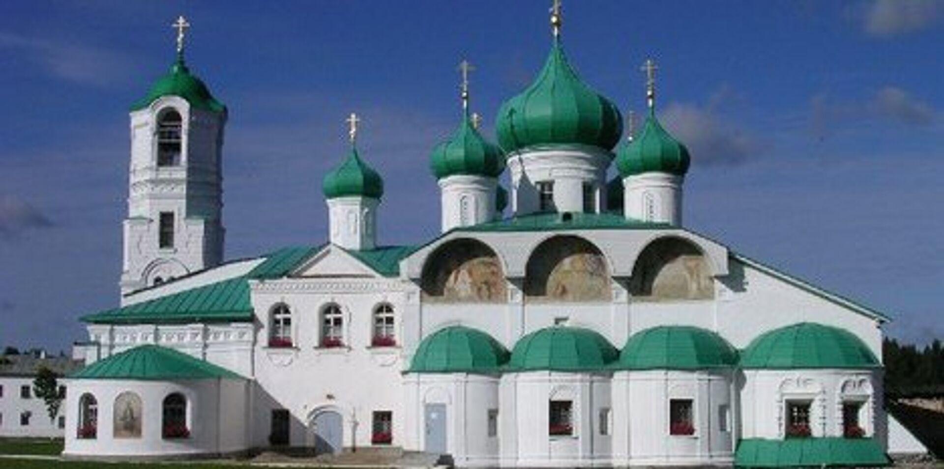 Александро-Свирский монастырь в Ленинградской области - РИА Новости, 1920, 10.09.2021