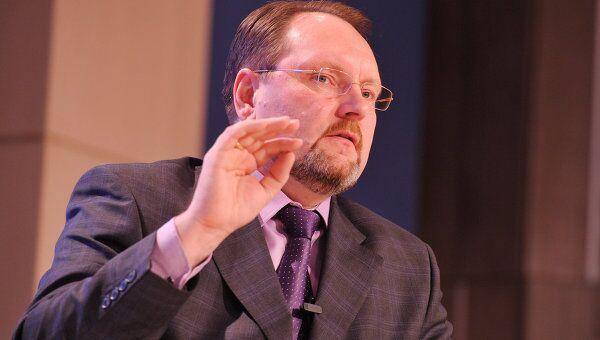 Заместитель министра экономического развития РФ Игорь Манылов выступает на Международном юридическом конгрессе