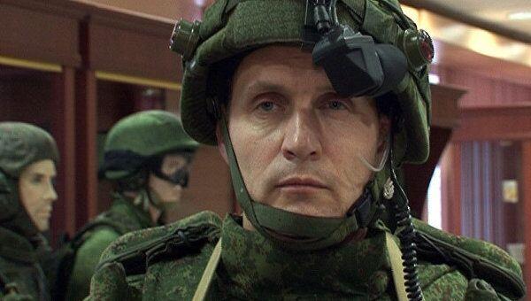 Военные показали, как солдат будущего будет отличать своих от чужих