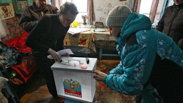 Досрочные выборы в Госдуму РФ в отдаленных населенных пунктах Республики Алтай