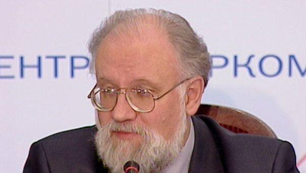 Чуров предложил журналистам съесть ящик для голосования