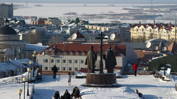 Ханты-Мансийск, архивное фото